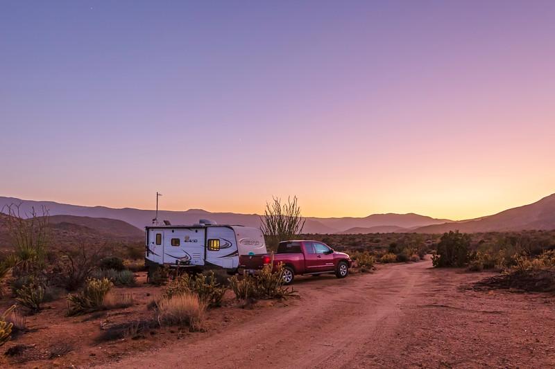 Deserted In the Desert - New Favorite Campsite In Anza-Borrego