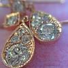 1.51ctw Diamond Mosaic OEC Dangle Earrings 29
