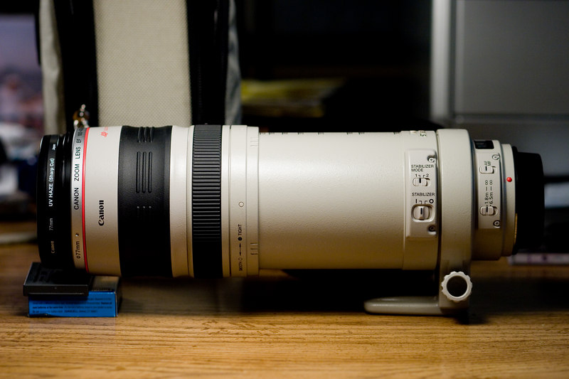 Extended to 400mm