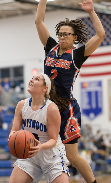 2018 Spotswood Varsity Girls vs Heritage Lynchburg