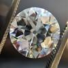 3.69ct Old European Cut Diamond GIA E VS2 12