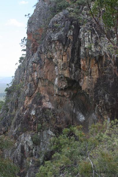 North Pinnacle, near Fredricks Peak, Townsville 2007. Photo by Trent Williams