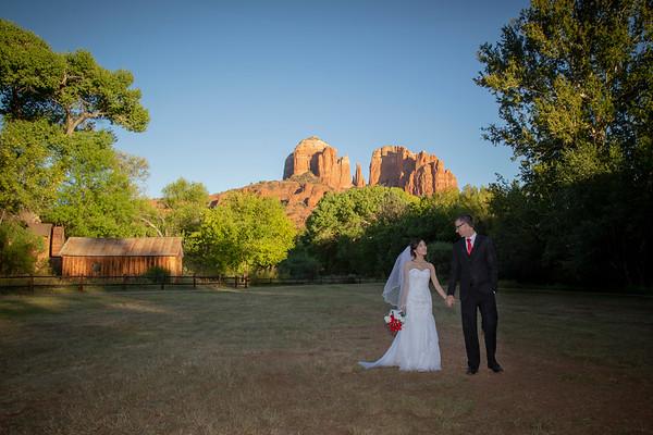 Huyen and Chris's Sedona Wedding