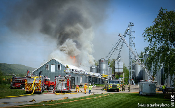 Warehouse Fire, Bligh Rd,May.31,2013