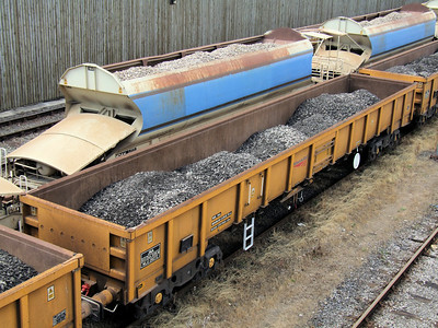 JNA (NLU) - Network Rail Bogie Ballast Wagon