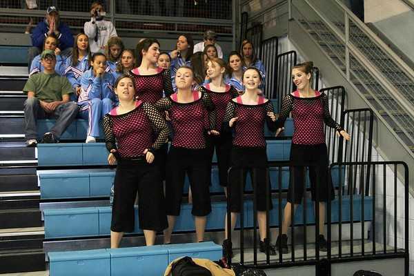6th District Cheerleaders, Dance, Step, Fans (Saturday)