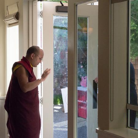 Paul Harrison & HH Karmapa XVII