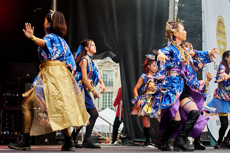Kyoki Ranbu by the Brighton and Hove Japanese Club Dance Team