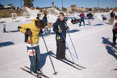 Ski Archery Race