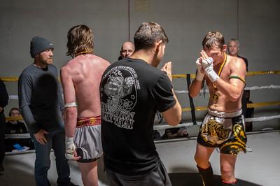 Eva vs Robinett - Muay Thai Fight Night IV