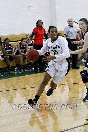 VARSITY GIRLS VS DAVIDSON 02-05-2014