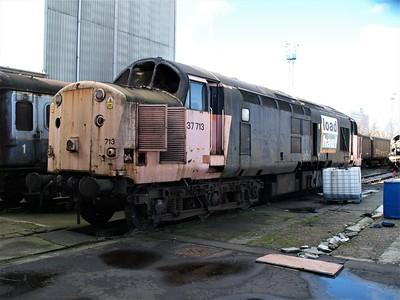 Crewe Diesel & Allerton Depot  03/03/07