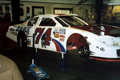 Visit to Moore racing 5-5-2005