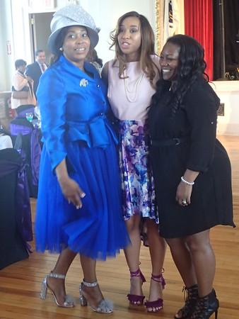 Cherina Clark graduates