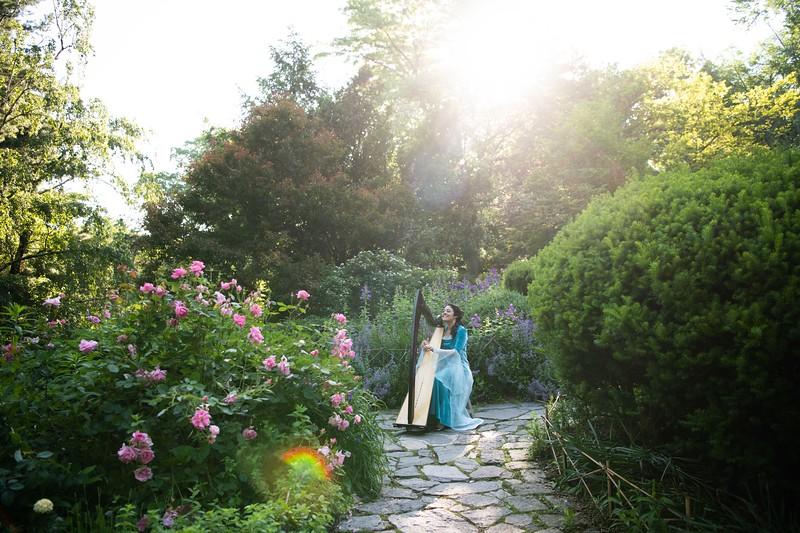 Jessica Magic Garden Shoot