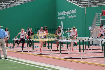100M & 110M Hurdles Prelims - 2013 Horizon League Outdoor Championships