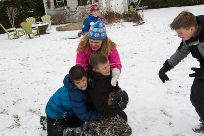 Backyard Snow Play