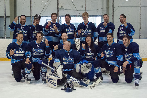 Orphans- Wichita Adult Hockey Champs '15