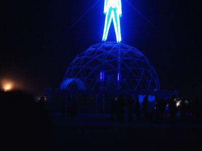 Burning Man 2004 The Burn