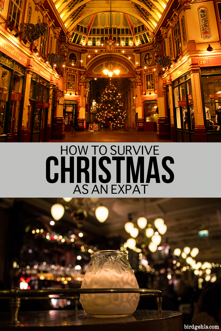 Spending the silly season in a new country or city can be a fun affair. Here are some ideas to help you survive Christmas as an #expat. #TravelTips