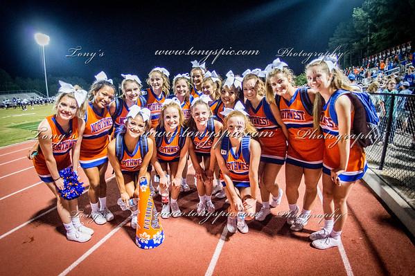 Cheerleaders @ S Atlanta Game 25 Aug 2017