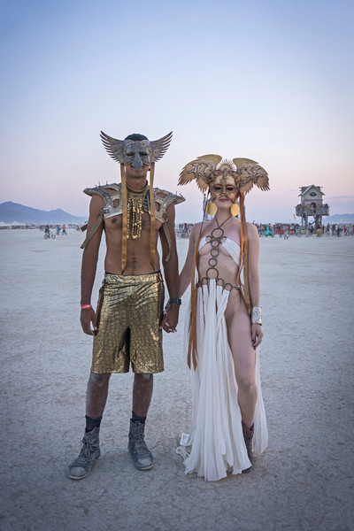 Crazy Burning Man