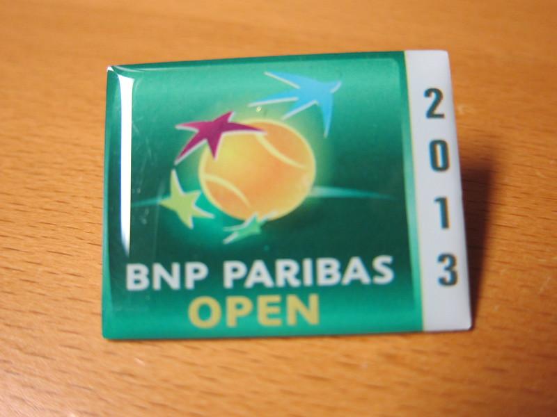 BNP Paribas Open 2013 Pin - Indian Wells