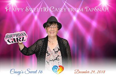 Casey's Sweet 16