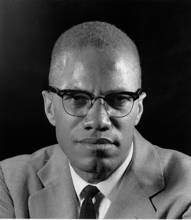 . Black Muslim leader Malcolm X poses during an interview in New York on March 5, 1964.  (AP Photo/Eddie Adams)