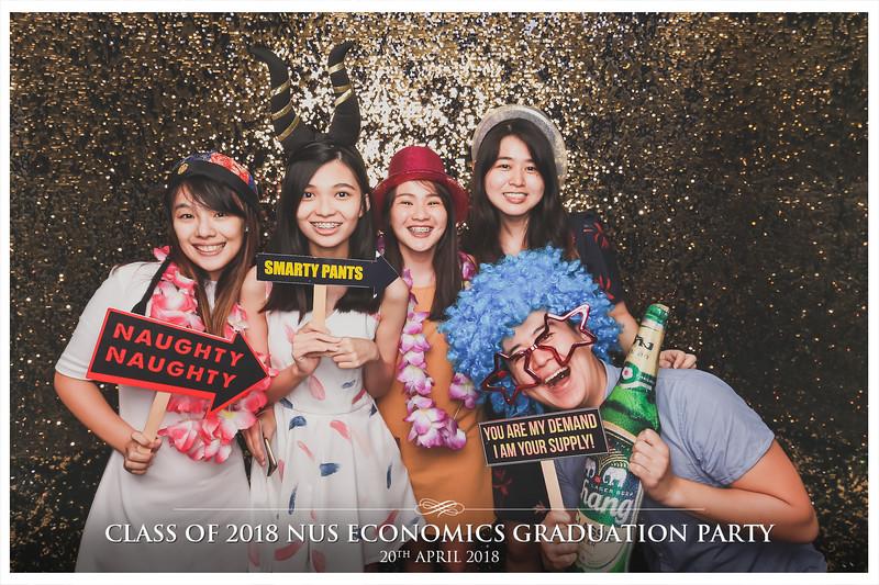 NUS Class of 2018 Economics Graduation Party | © www.SRSLYPhotobooth.sg