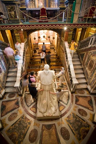 The Bethlehem crypt, Santa Maria Maggiore basilica, Rome