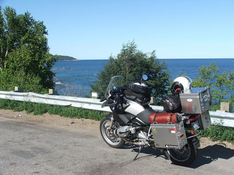Eastern shore of Lake Superior in Ontario, Canada