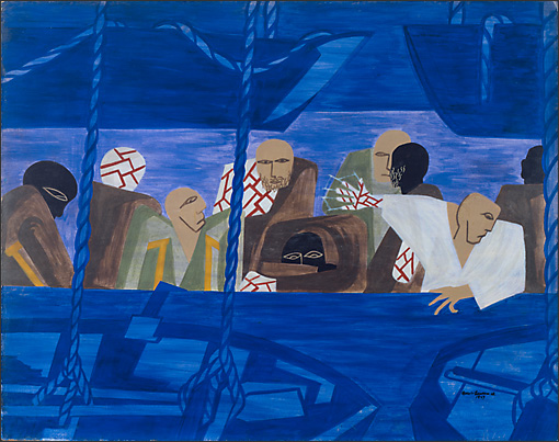 "Jacob Lawrence, ""War No. 12,"" 1947"