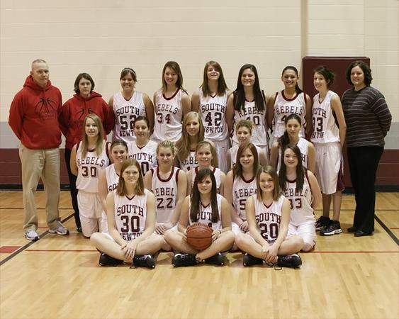 SNHS Girls Basketball Team 2007