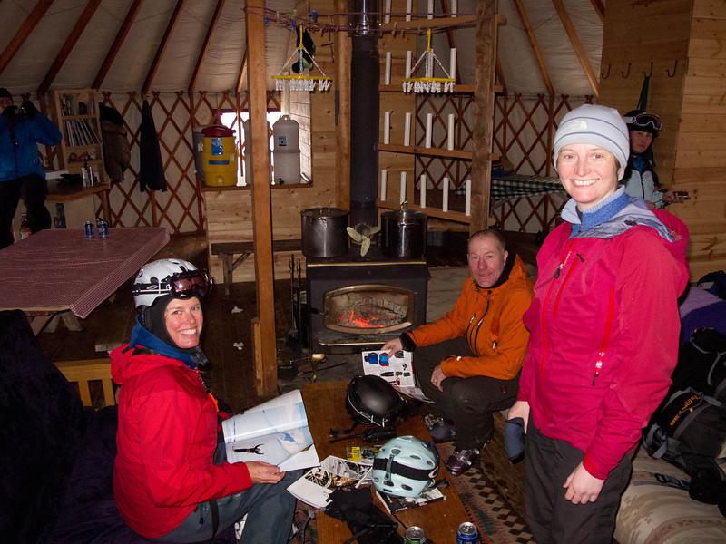 The cozy yurt