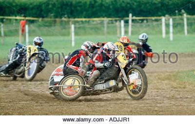 Grass track racing Sidecars