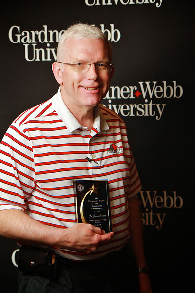 Apples and Accolades; Spring 2013. President's Award for Community Engagement