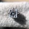 .52ctw Carre Cut Diamond Stud Earrings 4