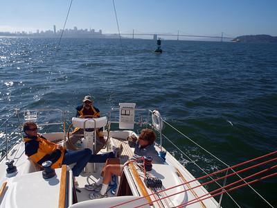 SF Bay Sailing August 2011