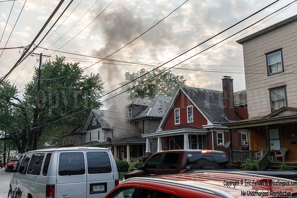 Residential Structure Fire - 816 Ann St, Stroudsburg, PA - 7/29/2021