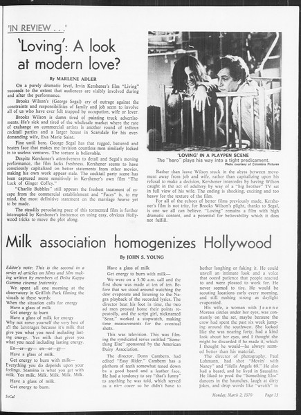 SoCal, Vol. 61, No. 83, March 02, 1970