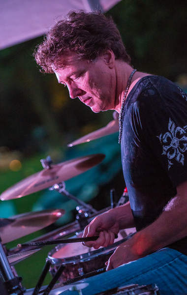 Paul Peterson-Sena Erhardt Band-Madelia Blues Fest 2014