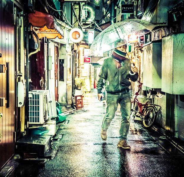 Rainy Night in Tokyo