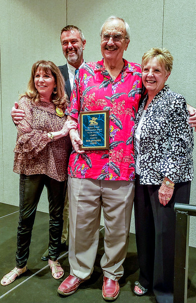 Bob and Sandy Lewis award for Walter C Hill.jpg