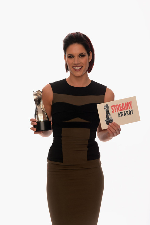 . Actress Missy Peregrym poses for a portrait in the TV Guide Portrait Studio at the 3rd Annual Streamy Awards at Hollywood Palladium on February 17, 2013 in Hollywood, California.  (Photo by Mark Davis/Getty Images for TV Guide)