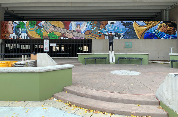 Crossroads Plaza Mural Fall 2018