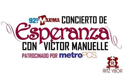 92.5FM MAXIMA Concierto de Esperanza con Victor Manuelle December 11, 2011