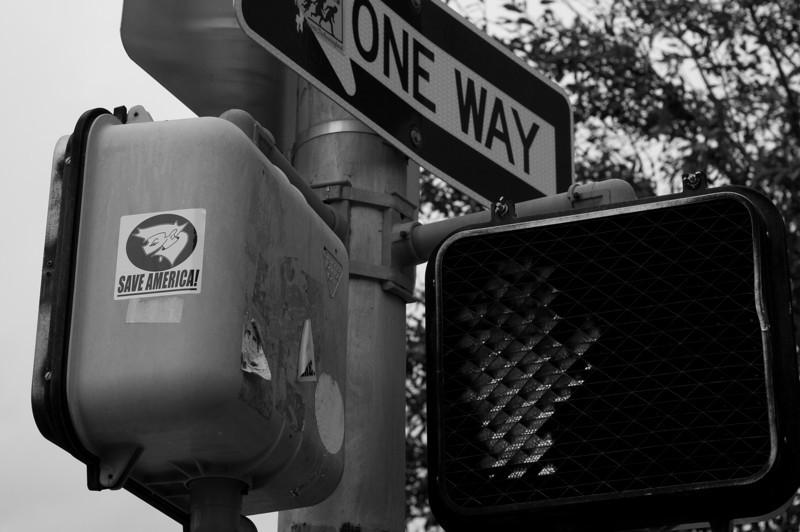 Traffic signs in Austin, Texas