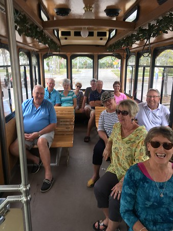 Sightseeing Trolley Tour of Sarasota for Private Groups of 10 or more!