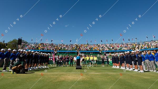 2016 Davis Cup Round 1 - AUS vs USA